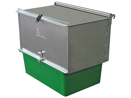 OUTDOOR CRADLE NEST BOX WITH GREEN TRAY