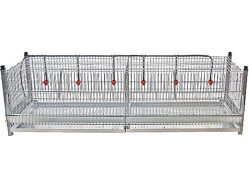 1,80M EXHIBITION CHICKEN CAGE