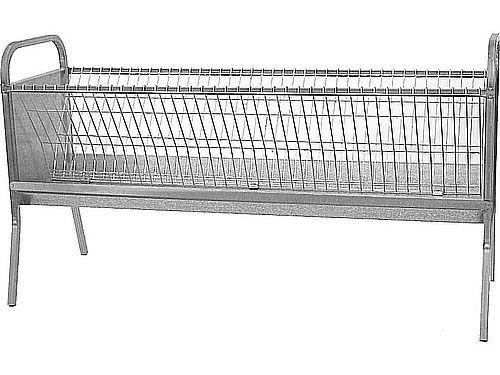 2 M DOUBLE OVINE FORAGE RACK