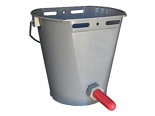 9L BUCKET FOR CALF WITH 1 TEAT
