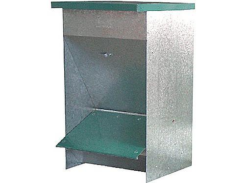 GALVANISED BIG DOG FEEDER