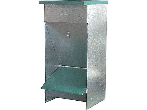 SMALL GALVANISED DOG FEEDER