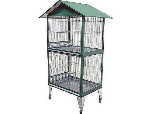 'GROVE' AVIARY 2 FLOORS WITH ACCESSORIES