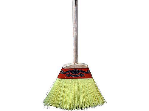FLAT SHEET BROOM WITH HANDLE