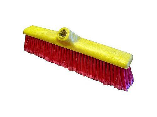 SWEEPER BRUSH WITH PP 400 FIBRE PVC BASE (WITHOUT HANDLE)