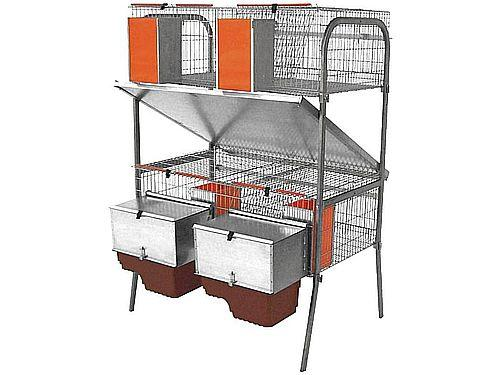 ECONOMIC CAGE-3 WITH 2 NESTS PACIFIER