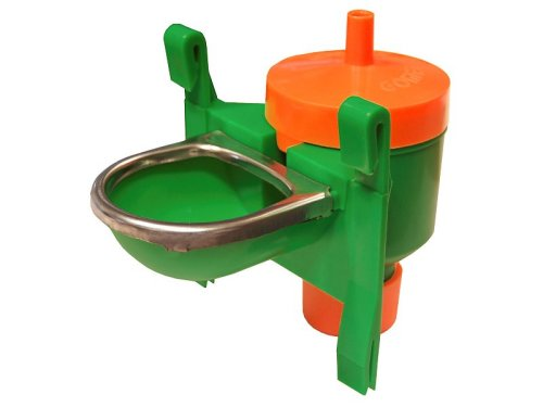 BUOY PLASTIC DRINKER WITH STAINLESS PROTECTION