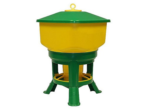 PLASTIC HOPPER WITH LEGS 30 liters.