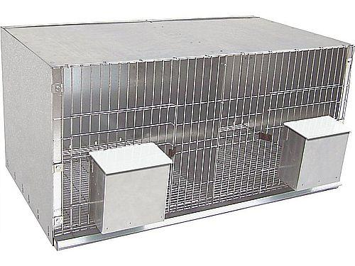 2 COMPARTMENT PIDGEON CAGE