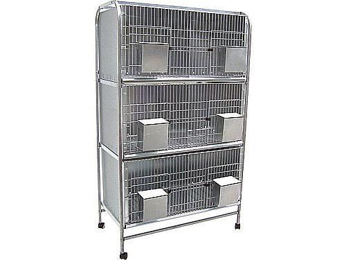 6 COMPARTMENT PIDGEON CAGE