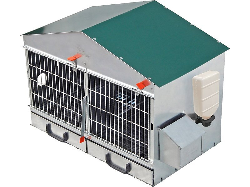 PARTRIDGE CAGE  OF 2 COMPARTMENTS