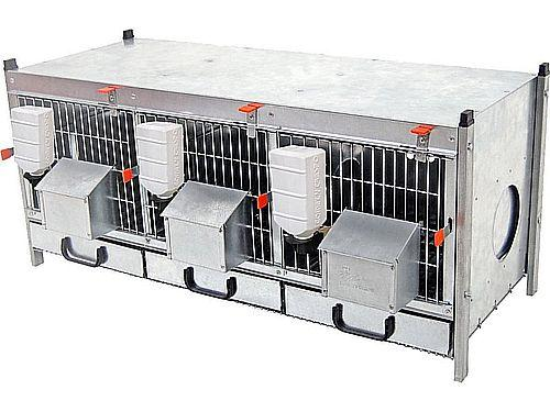 PARTRIDGE CAGE OF 3 COMPARTMENTS