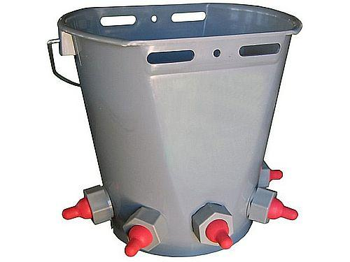 LACTANCY BUCKET WITH 5 TEATS FOR LAMBS