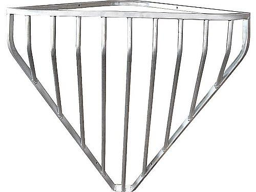 GALVANISED CORNER WALL FORAGE RACK
