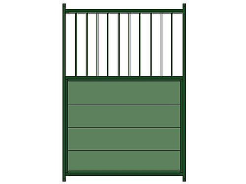 MIXED LACQUERED PANEL ( PLASTIC BARS) FOR 1,35M DOG KENNEL