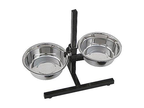 DOUBLE ADJUSTABLE FEEDING-PLACE 2,80 l.