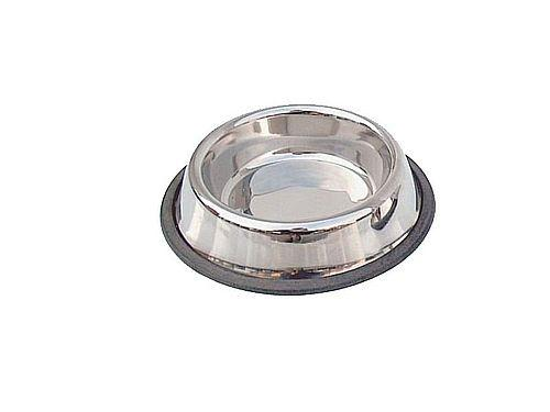 FEEDING-PLACE OF SOIL FOR DOGS GIVES 0,45 L. STAINLESS