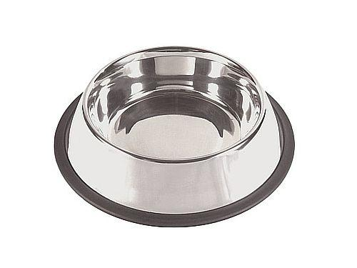 FEEDING-PLACE OF SOIL FOR DOGS GIVES 1,75 L. STAINLESS