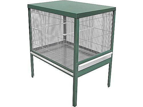 'BOIRO' AVIARY 1 FLOOR WITH ACCESSORIES