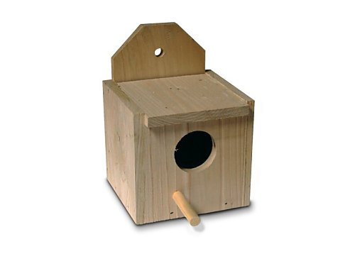 SMALL WOODEN NEST BOX