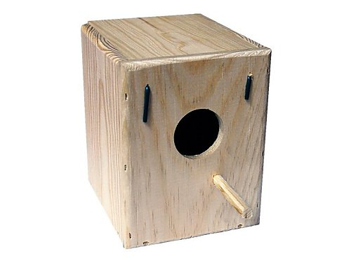 PARAKEET OUTDOOR NEST BOX